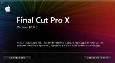 fcpx 10.0.5